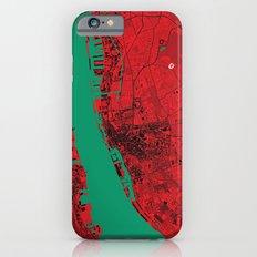 Liverpool Map iPhone 6s Slim Case