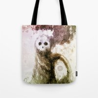 let it go Tote Bags featuring Let Go by Jæn ∞