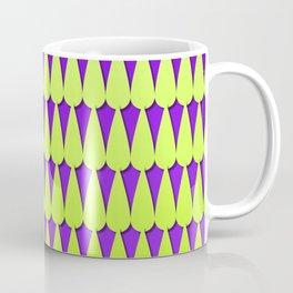 Purple and Neon Scales Coffee Mug