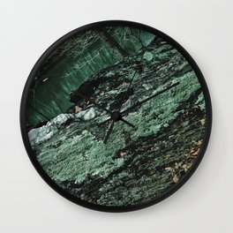 Forest Textures Wall Clock
