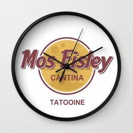 Star - Mos Eisley Cantina Tatooine - Wars Wall Clock