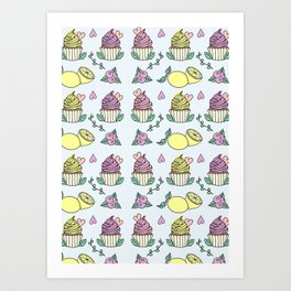 Time For Cupcakes! Art Print