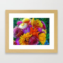 Fall Bouquet for Peace by Mandy Ramsey Framed Art Print