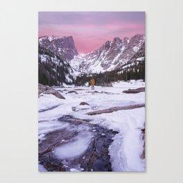 Dreaming Big at Dream Lake Canvas Print
