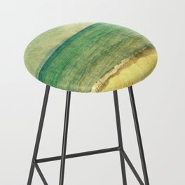 Seascape Vertical Abstract Bar Stool