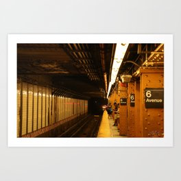 Underground Art Print