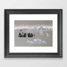 U.F.O. Framed Art Print