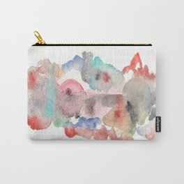 Watercolor red Carry-All Pouch