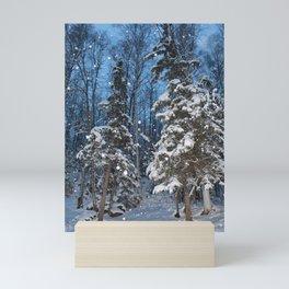 Bright Winter Snow 2 Mini Art Print