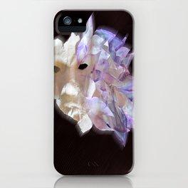 Purple Flame iPhone Case
