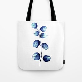 Dark blue eucalyptus Tote Bag
