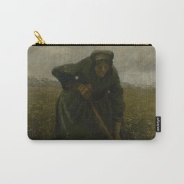 Woman Lifting Potatoes Carry-All Pouch