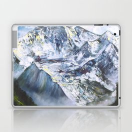 Jungfrau mountain. Swiss Alps Laptop & iPad Skin