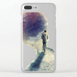 Shortcut to the Sea Clear iPhone Case