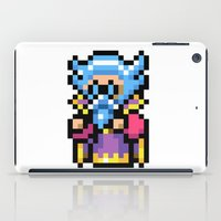 final fantasy iPad Cases featuring Final Fantasy II - Tellah by Nerd Stuff