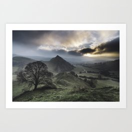 """Chrome Hill & Parkhouse Hills."" Peak District, UK. Art Print"