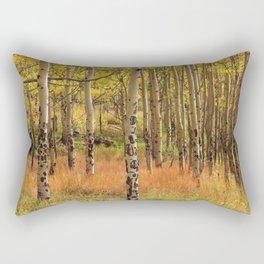 Golden Glory Rectangular Pillow