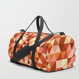 Hot triangle mandala Duffle Bag
