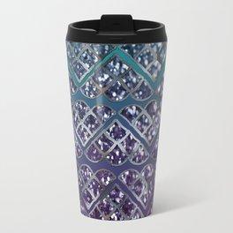 Purple Aqua MERMAID Glitter Scales Dream #2 #shiny #decor #art #society6 Travel Mug