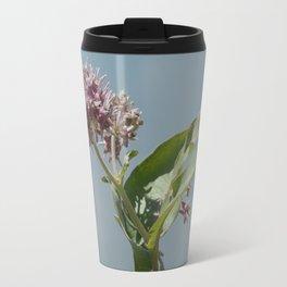 Summer milkweed flowers Travel Mug