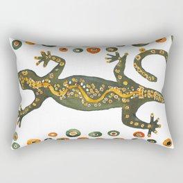 Dotty Gecko Rectangular Pillow