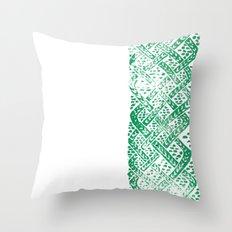 Knitwork I Throw Pillow