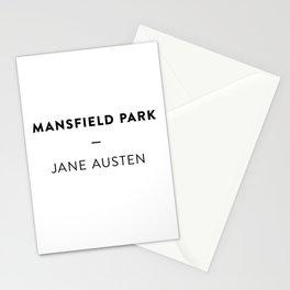 Mansfield Park  —  Jane Austen Stationery Cards