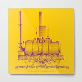 Blenkinsop's Locomotive Metal Print