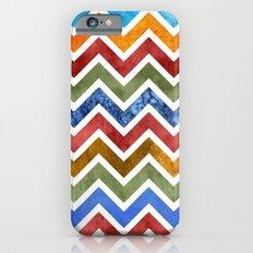 Chevrons in Color iPhone 6s Slim Case