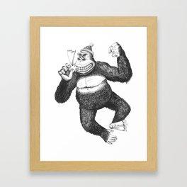 KingKongClaus Framed Art Print