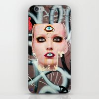 shiva iPhone & iPod Skins featuring shiva by Juliya Lezhen