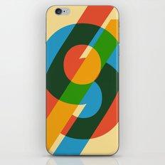 six to nine iPhone & iPod Skin