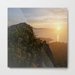 Saint Tropez Sunrise Metal Print