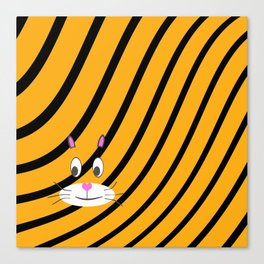 Terry the Tiger Canvas Print