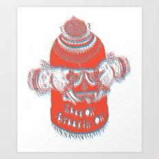 (Keep On, Creepin' On) Art Print