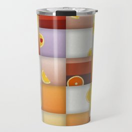 cocktail squares Travel Mug