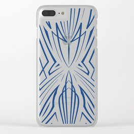 Pinstripe Pattern Creation XXI Clear iPhone Case