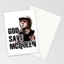 God Save McQueen! Stationery Cards