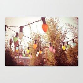 Color lights Canvas Print