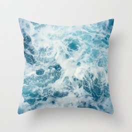 Sea Swirl Throw Pillow