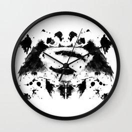 Rorschach Heroes Wall Clock