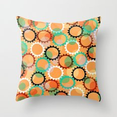 Smells like flowers and sun Throw Pillow