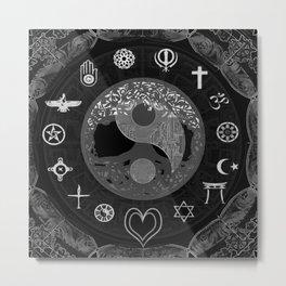 Serenity and Balance Metal Print