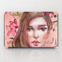 peach iPad Cases featuring Peach by Koanne Ko