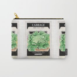 Cabbage Seed Packet Carry-All Pouch