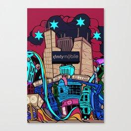 xf Canvas Print