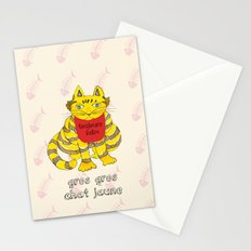 Big Fat Yellow Cat Stationery Cards