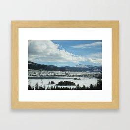 Dillon Reservoir, CO Framed Art Print