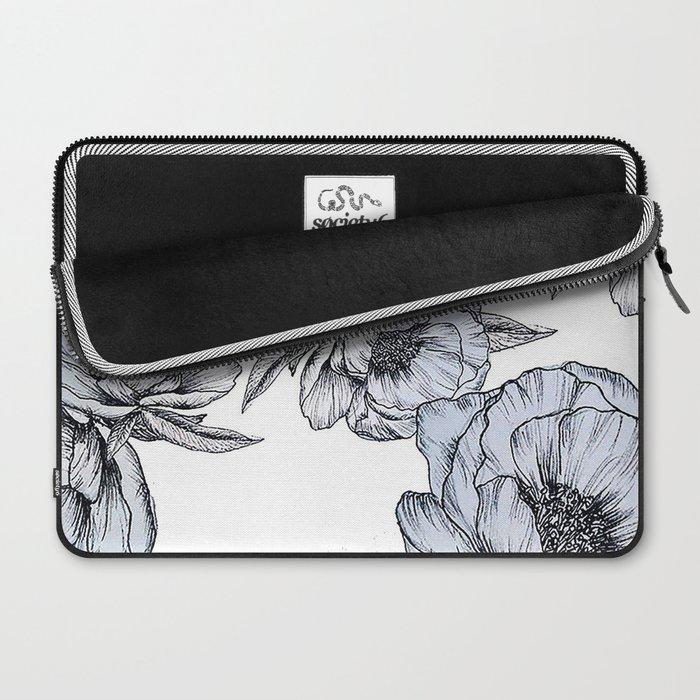 floating flowers Laptop Sleeve