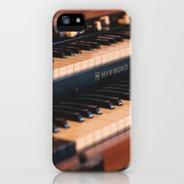 Hammond iPhone Case